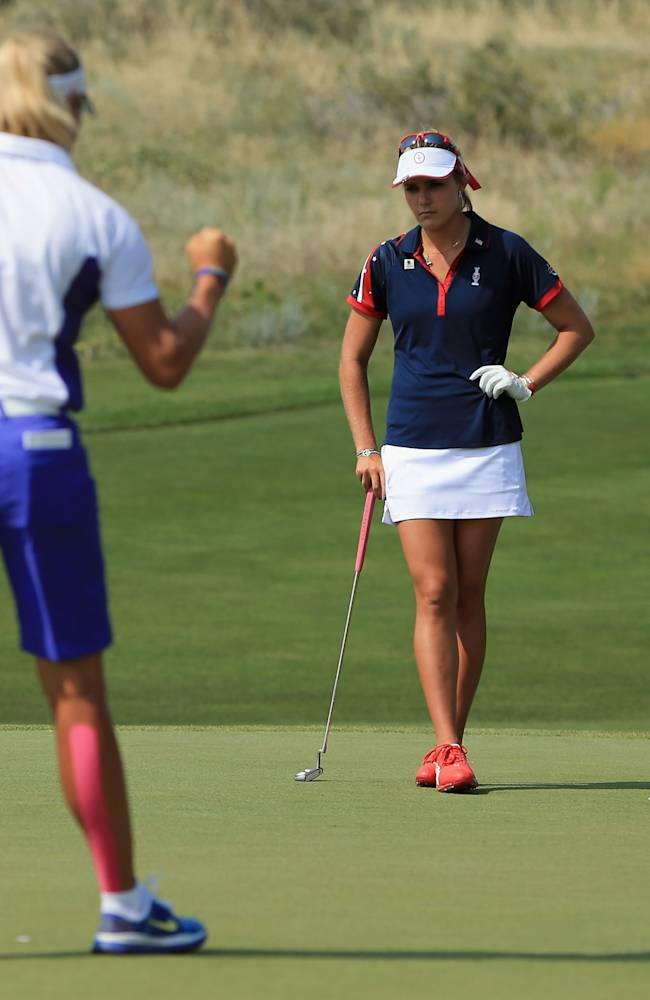 The Solheim Cup - Day One