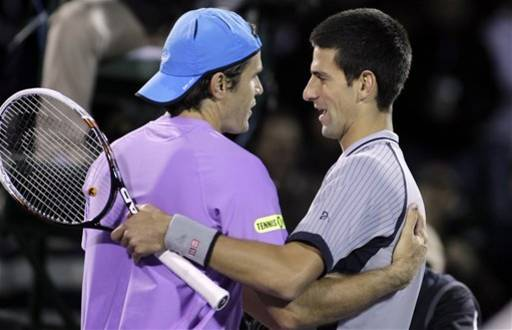 Djokovic upset by 34-year-old Haas at Sony Open