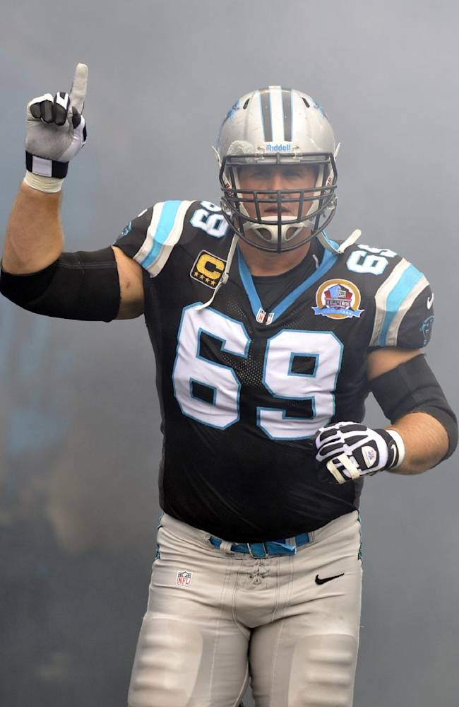 Panthers say OT Gross will announce retirement