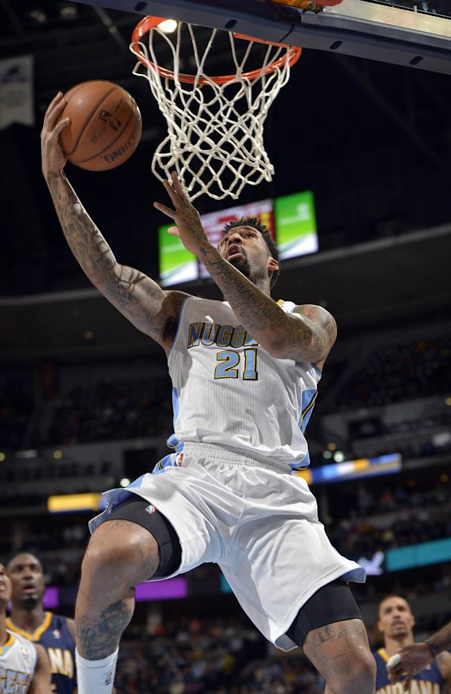Chandler, Nuggets end 3-game skid, beat Pacers
