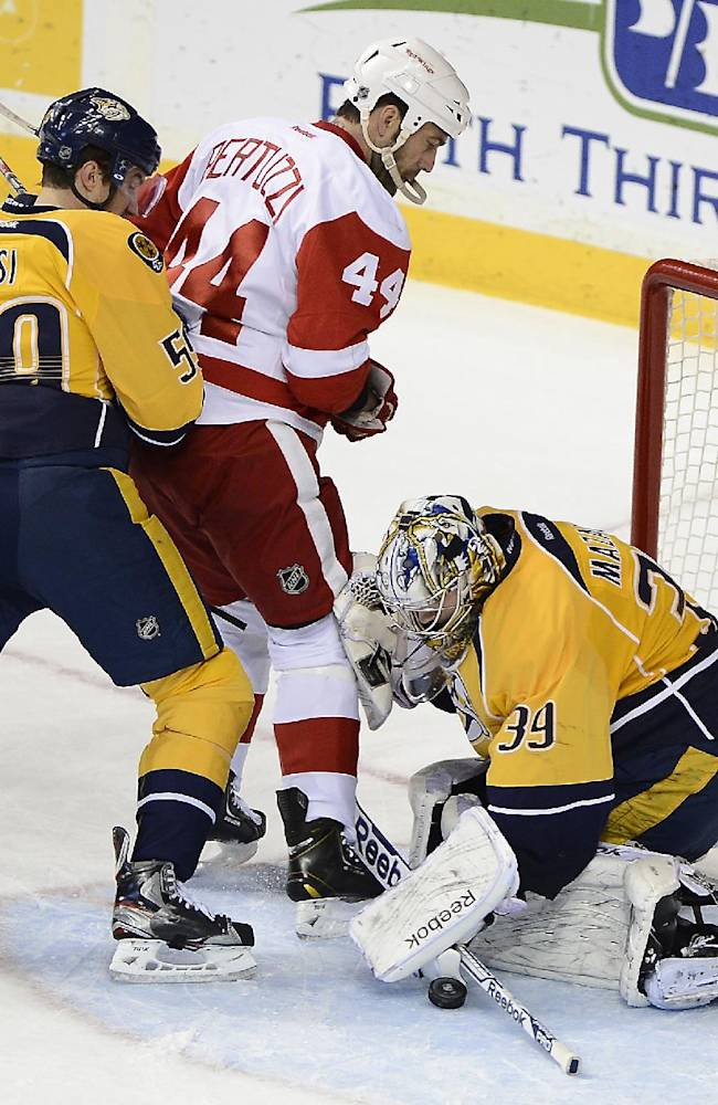 Wilson has 2 goals, assist in Predators' win
