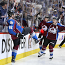 MacKinnon helps Avs to 4-2 win over Wild The Associated Press