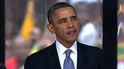 Obama Urges World: Act on Mandela Legacy