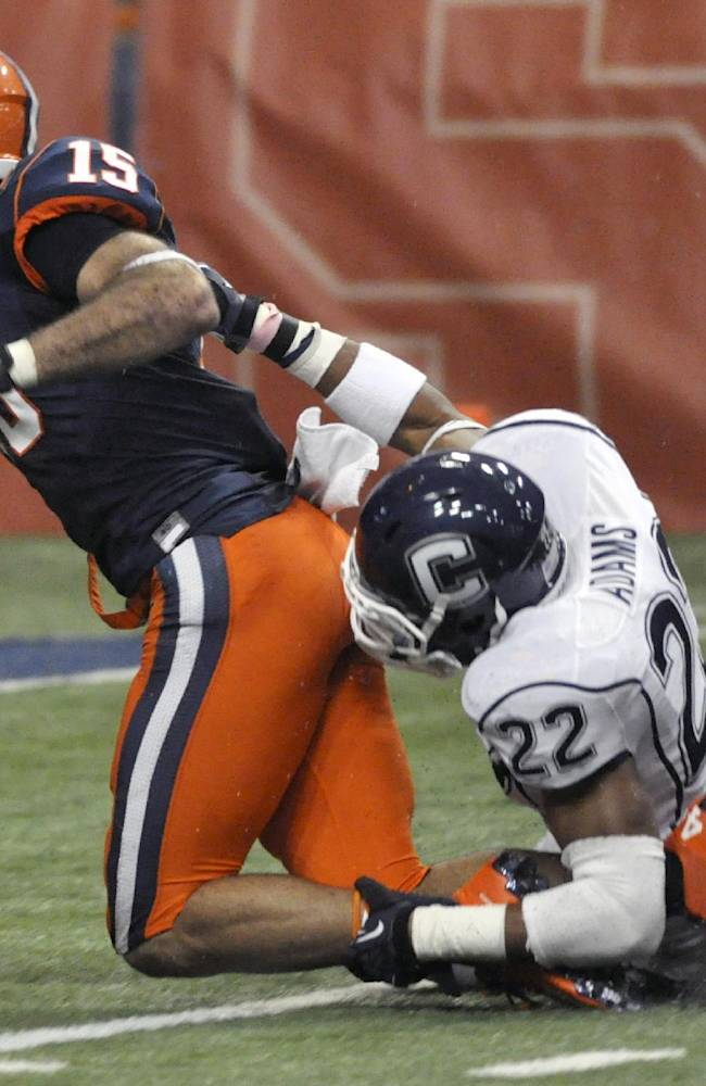 UConn and Syracuse agree to renew football rivalry