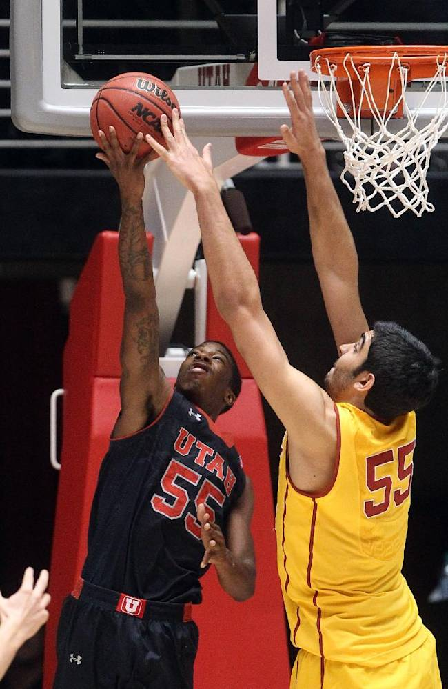 Utah pulls away in 84-66 win over USC