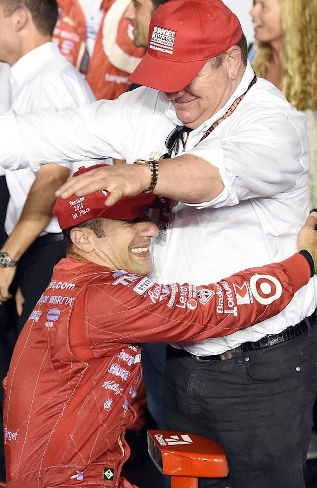 Will Power wins IndyCar series title behind Kanaan