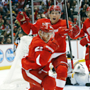 Red Wings pound Bruins 6-1 The Associated Press