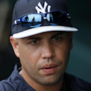 New York Yankees' Carlos Beltran stands in the dugout at McKechnie Field before an exhibition spring training baseball game against the Pittsburgh Pirates in Bradenton, Fla., Wednesday, Feb. 26, 2014 The Associated Press
