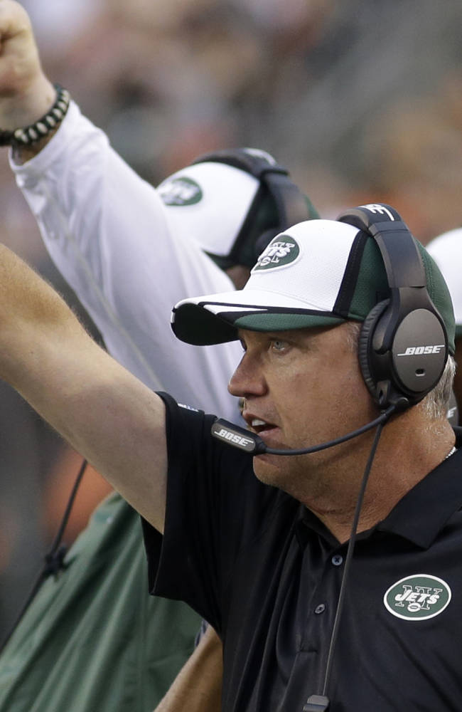 Rex wants Jets to be smart, but aggressive