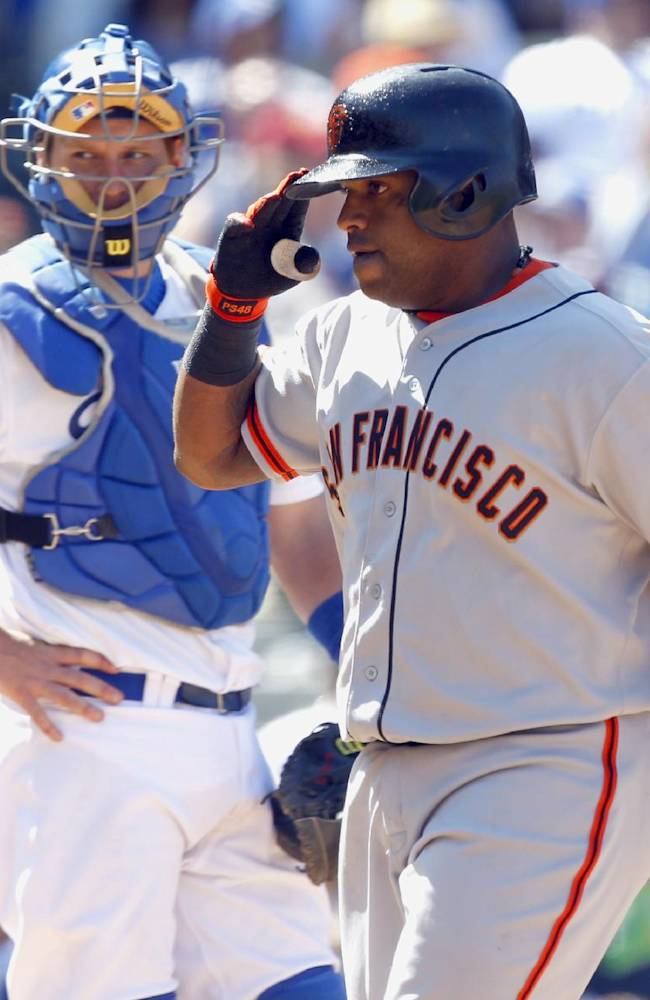 Puig returns, but Giants beat Dodgers 7-2