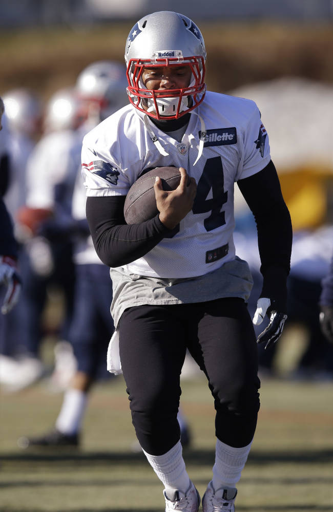 Tom Brady back at practice after missing day