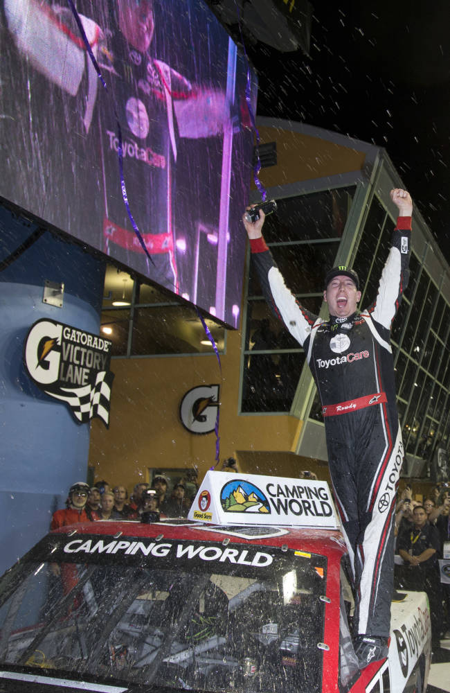 Crafton wins NASCAR Truck Series championship