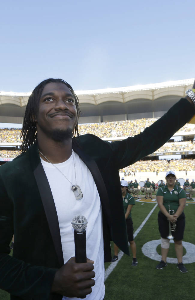 Redskins' RG3 'not worried' about being disliked