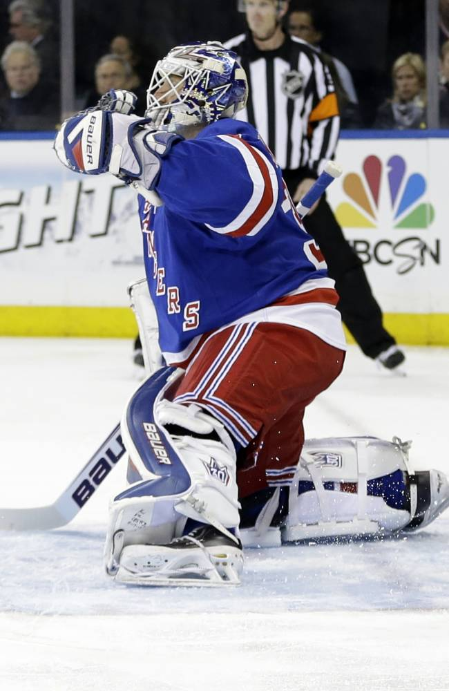 Lundqvist has records, now wants Stanley Cup ring