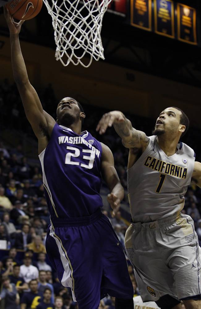 Cal unbeaten in Pac-12; beats Washington 82-56