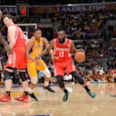 Jones, Harden lead Rockets past Lakers 145-130 The Associated Press