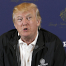 Donald Trump speaks during a news conference in Rancho Palos Verdes, Calif., on Tuesday, March 10, 2015. Trump National Golf Club - Los Angeles will host the the 33rd PGA Grand Slam of Golf in October. (AP Photo/Nick Ut)