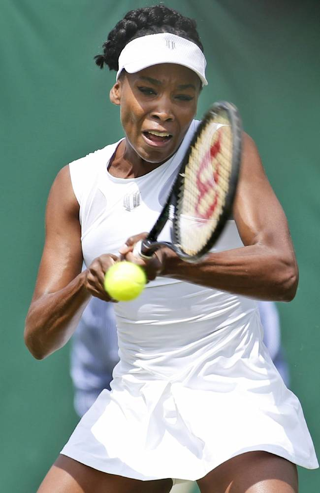 5 things at Wimbledon: Rain; Williams vs. Kvitova