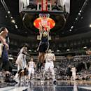 MEMPHIS, TN - MARCH 3: Rudy Gobert #27 of the Utah Jazz dunks against the Memphis Grizzlies on March 3, 2015 at FedExForum in Memphis, Tennessee. (Photo by Joe Murphy/NBAE via Getty Images)