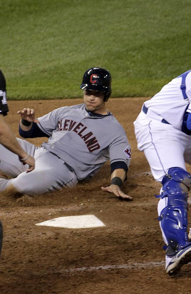 Butler's pinch-hit HR lifts Royals over Indians