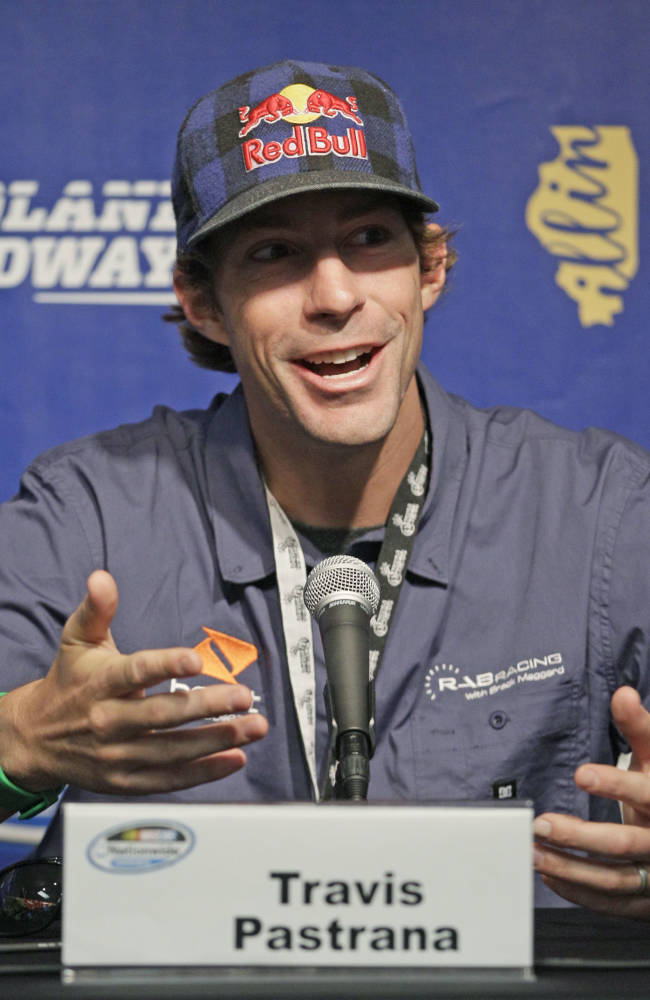 Travis Pastrana leaving NASCAR after season finale