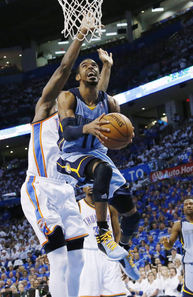 Grizzlies' Conley wins NBA's sportsmanship award