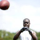 Philadelphia Eagles' Jeremy Maclin catches a football during NFL football training camp on Sunday, July 27, 2014, in Philadelphia The Associated Press