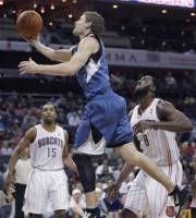 KEVIN LOVE's 40 points and 19 rebounds lead Timberwolves past Bobcats