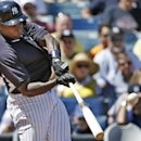 New York Yankees Alfonso Soriano hits a fourth-inning, two-run home run off Boston Red Sox relief pitcher Brandon Workman in a spring exhibition baseball game in Tampa, Fla., Tuesday, March 18, 2014 The Associated Press