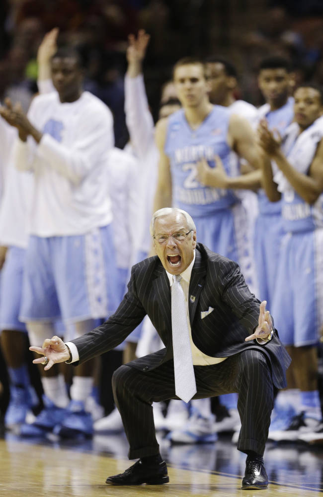 Williams' Tar Heels close turmoil-filled season