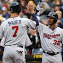 Mauer's homer lifts Twins to 4-3 win over Pirates in 13 The Associated Press