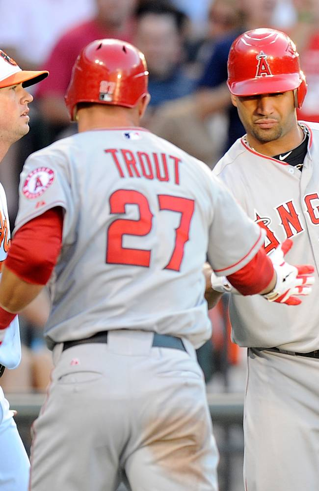 Los Angeles Angels of Anaheim v Baltimore Orioles