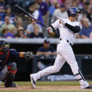 Gonzalez homers to lead Rockies over Braves 5-3 The Associated Press