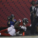 Hester, Falcons take 56-0 lead in 3rd quarter The Associated Press