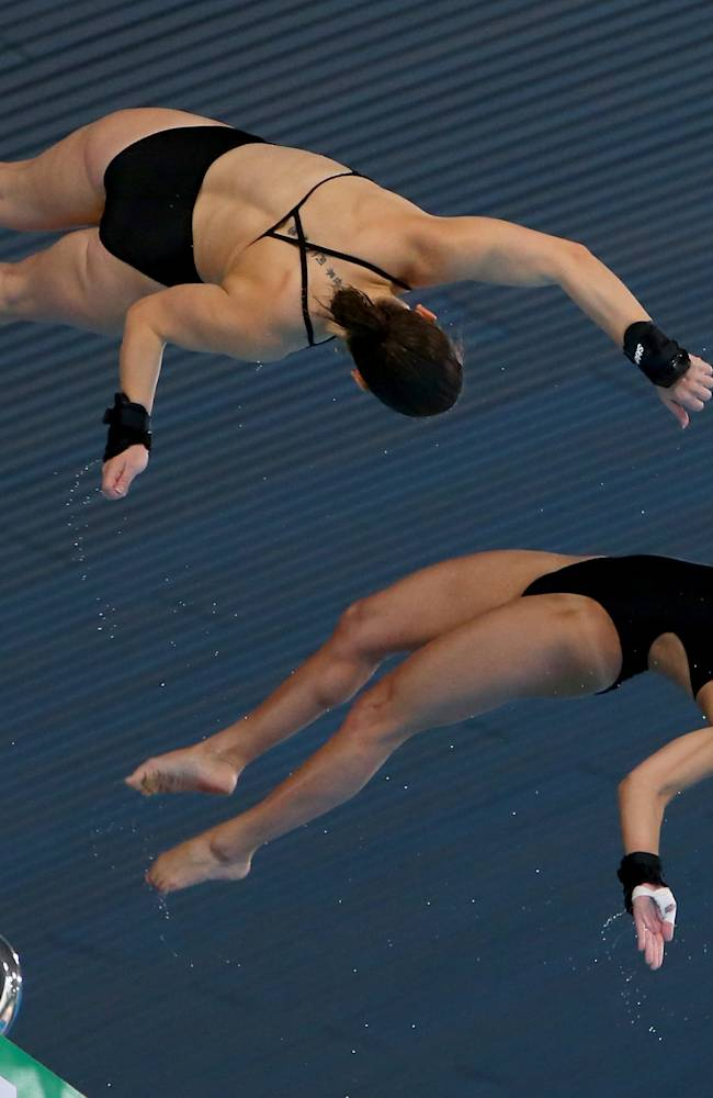 FINA/NVC Diving World Series 2014 - Day One