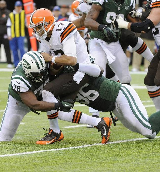 5 things to know from Jets' 24-13 win over Browns