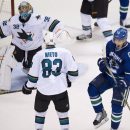Horvat nets winner as Canucks top Sharks 4-2 The Associated Press