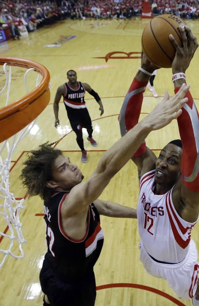 Aldridge's 43 lifts Blazers over Rockets 112-105