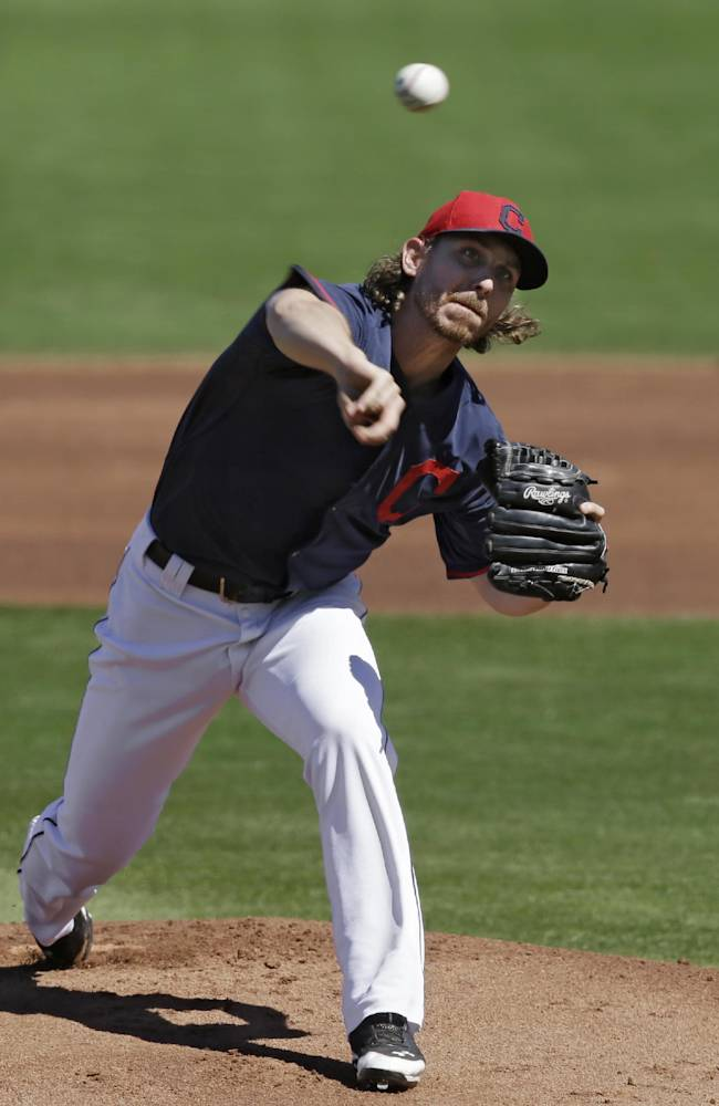 Tomlin pitches Indians past Brewers 4-2
