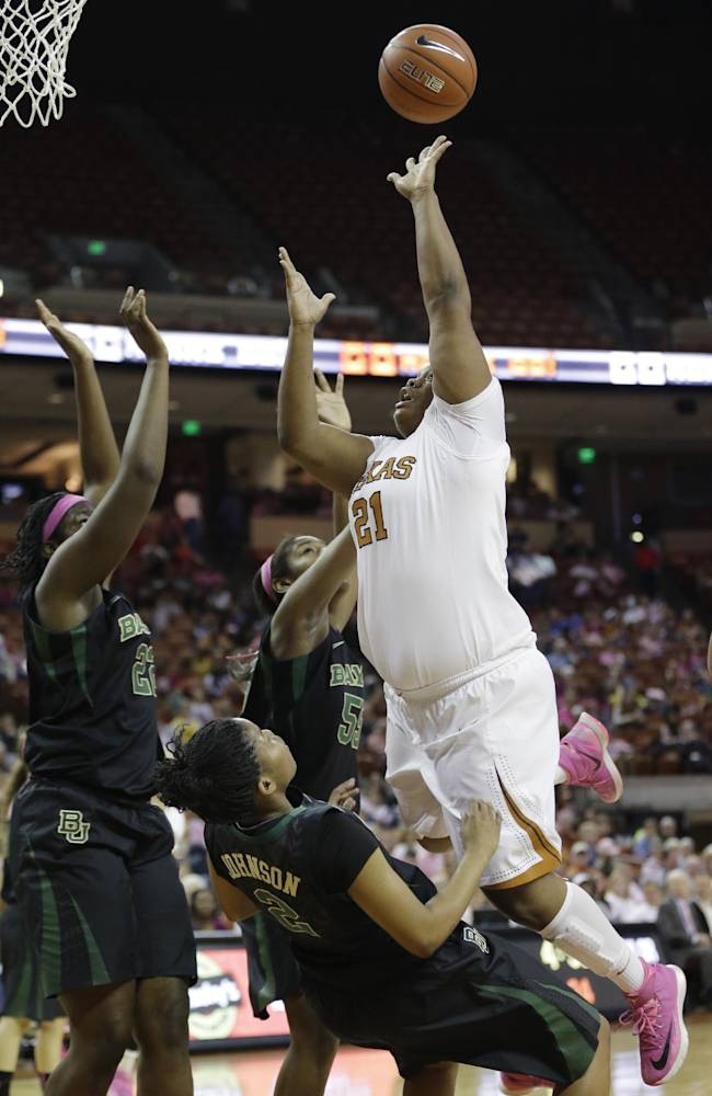 Sims' 34 points lead No. 7 Baylor over Texas 72-56