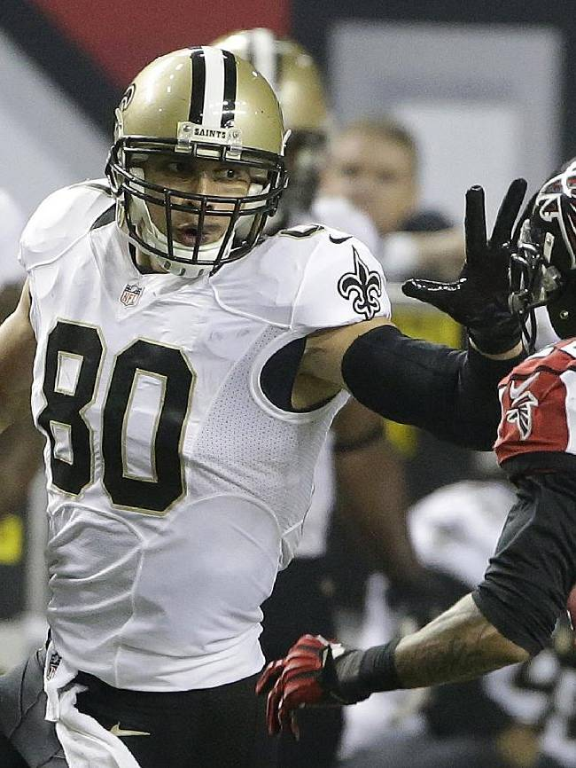 Saints confirm multiyear deal with Jimmy Graham