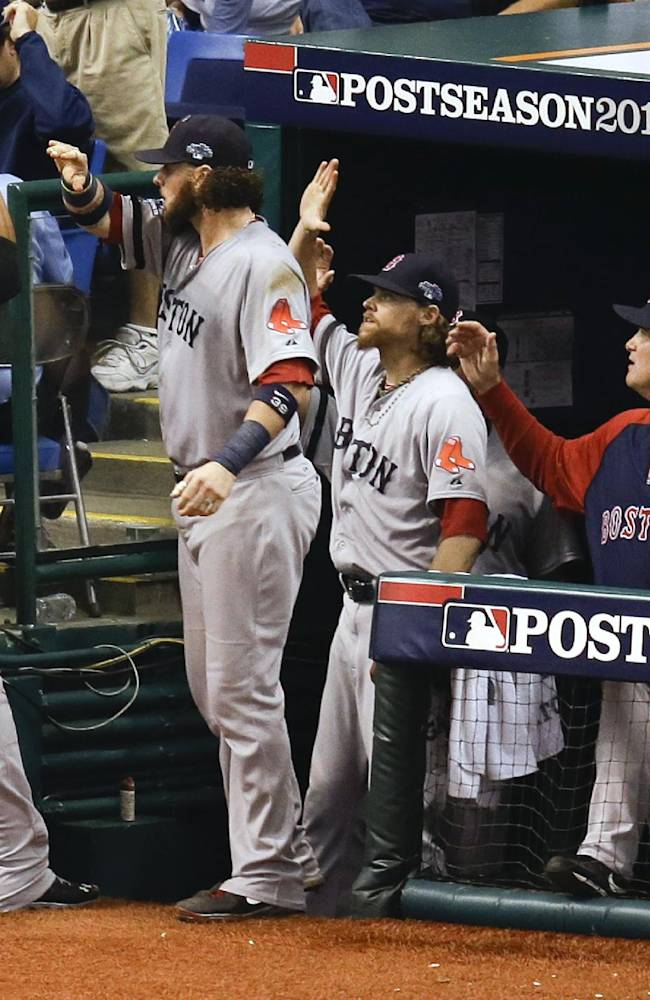 Red Sox SS Bogaerts, 21, coming of age in playoffs