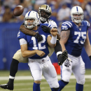 Colts face daunting challenge to protect Luck The Associated Press