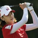 Choi Na-yeon of South Korea watches her drive from the 18th tee during the third round at the U.S. Women's Open golf tournament at Blackwolf Run in Kohler, Wisconsin July 7, 2012. REUTERS/John Gress