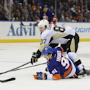 Crosby ties it in 3rd, wins it in OT for Pens The Associated Press
