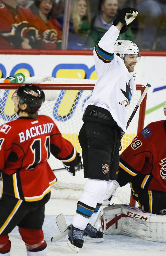 Sharks edge Flames 3-2 in OT