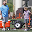 Andrew Whitworth talks to Bengals owners about future The Associated Press
