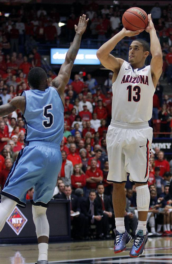 Johnson, Ashley lead No. 5 Arizona past Rams 87-59