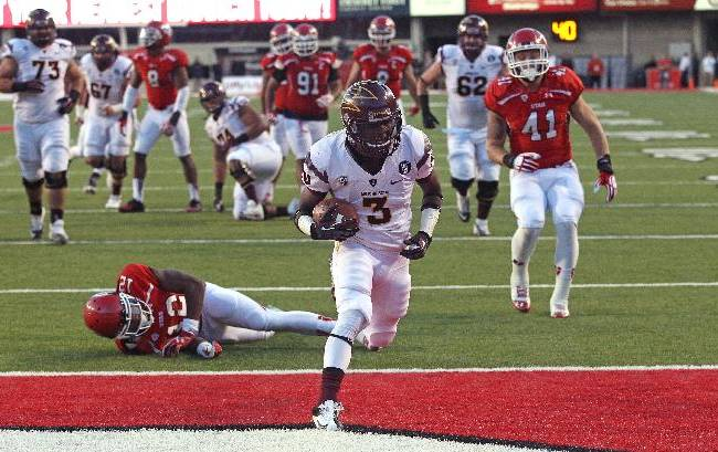 Sun Devils in control of Pac-12 South