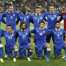 Italy's national soccer team pose before the start of their 2014 World Cup qualifying soccer match against Czech Republic at the Juventus stadium in Turin, September 10, 2013. REUTERS/Stefano Rellandini